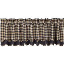 Black Check Valance - 840528110917
