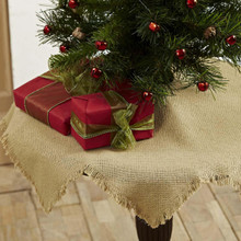 Burlap Natural Mini Tree Skirt - 841985024380
