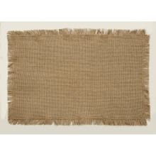 Burlap Natural Placemat Set - 840528146824