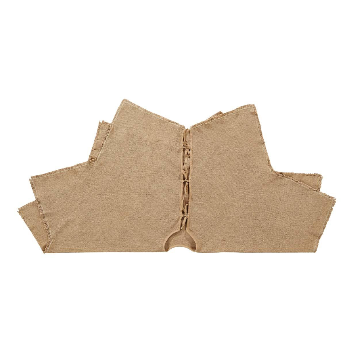 Burlap Natural Tree Skirt - 841985004108