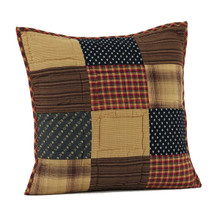 Patriotic Patch Quilted Pillow - 840528151156