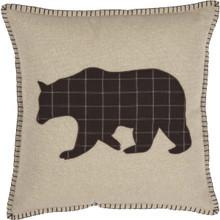 Wyatt Bear Applique Pillow - 840528162831