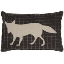 Wyatt Fox Applique Pillow - 840528162848