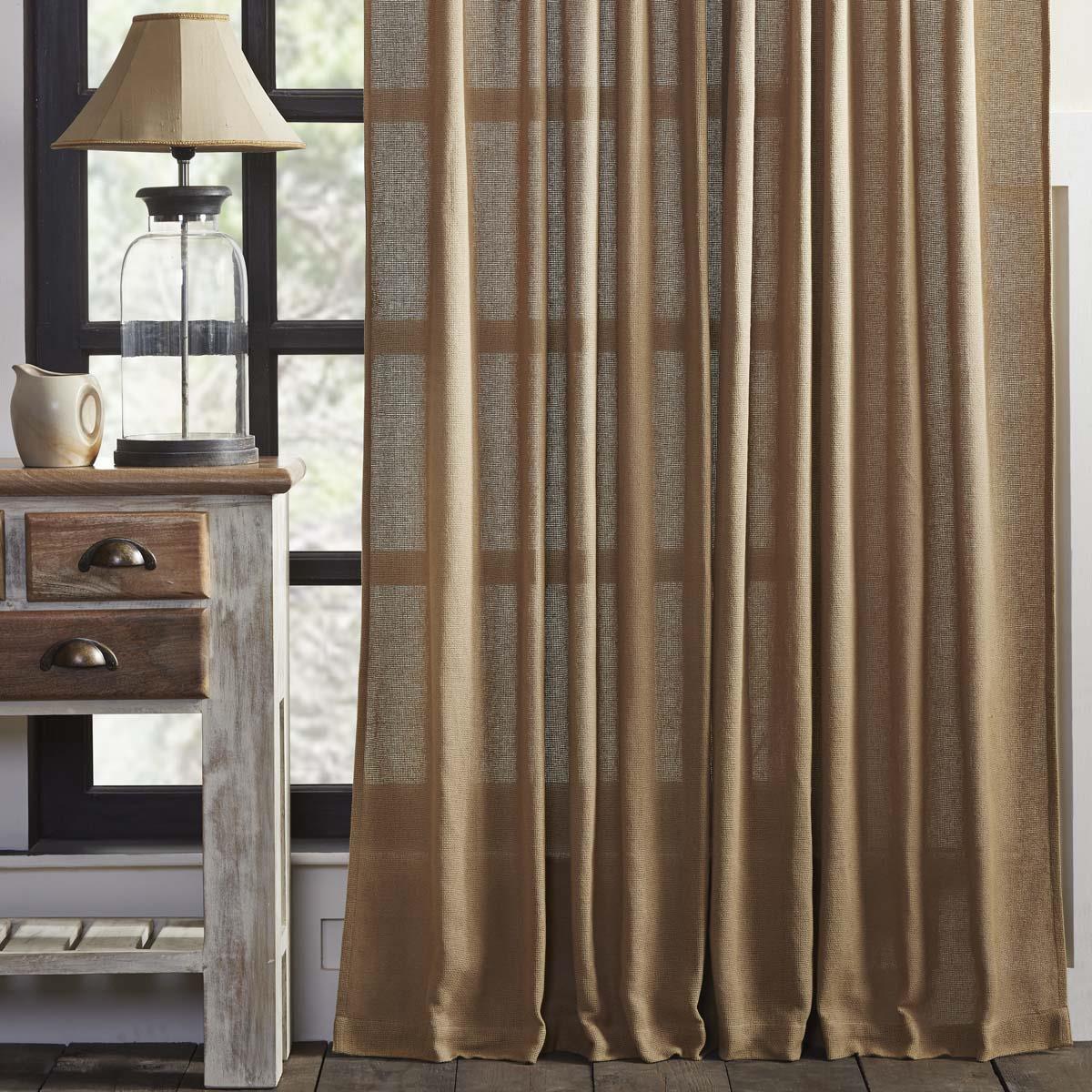 Burlap Curtains - 841985000636