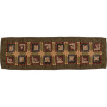 Tea Cabin Quilted Runner - 841985030213