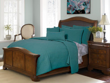 Ana Aqua Quilt Collection -