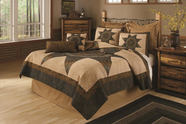 Forest Star Quilt Collection -
