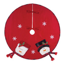 Snowman Tree Skirt - 008246501268