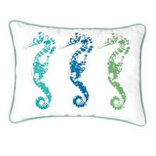 3 Seahorses Pillow - 008246509639
