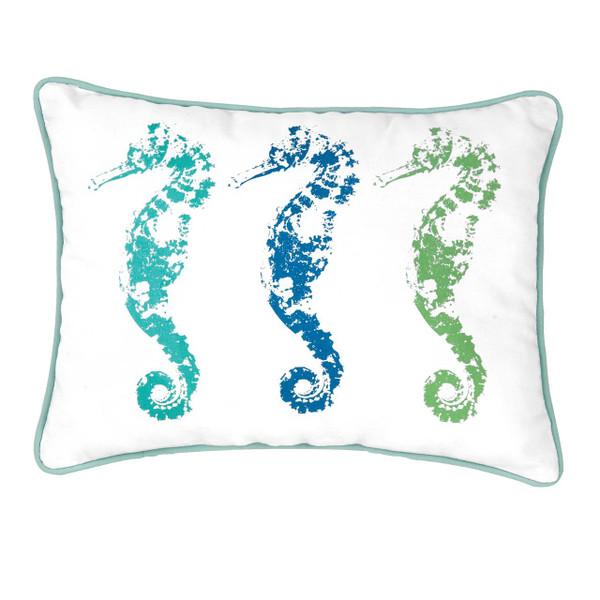 3 Seahorses Pillow - 008246509639