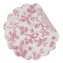 Evergreen Toile Round Placemat - 008246091868