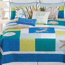 Blue Oasis Quilt Collection -