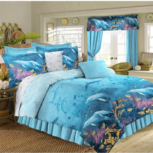 Dolphin Cove Bedding Collection -