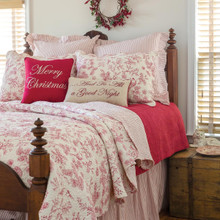 Evergreen Toile  Quilt Set - 008246511946