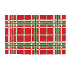 Christmas Plaid Rug - 008246447245