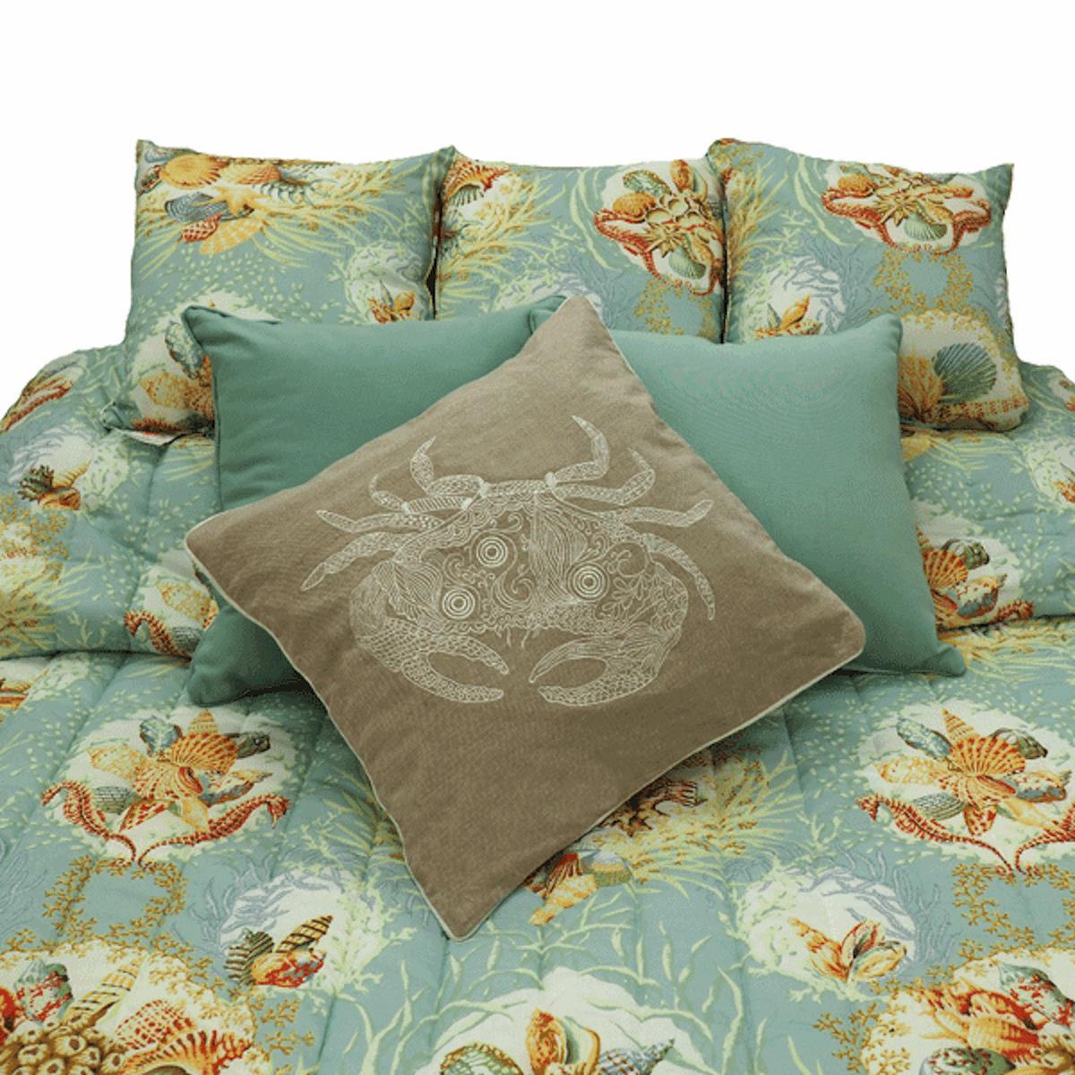 Aqua Sealife Bedding Collection -