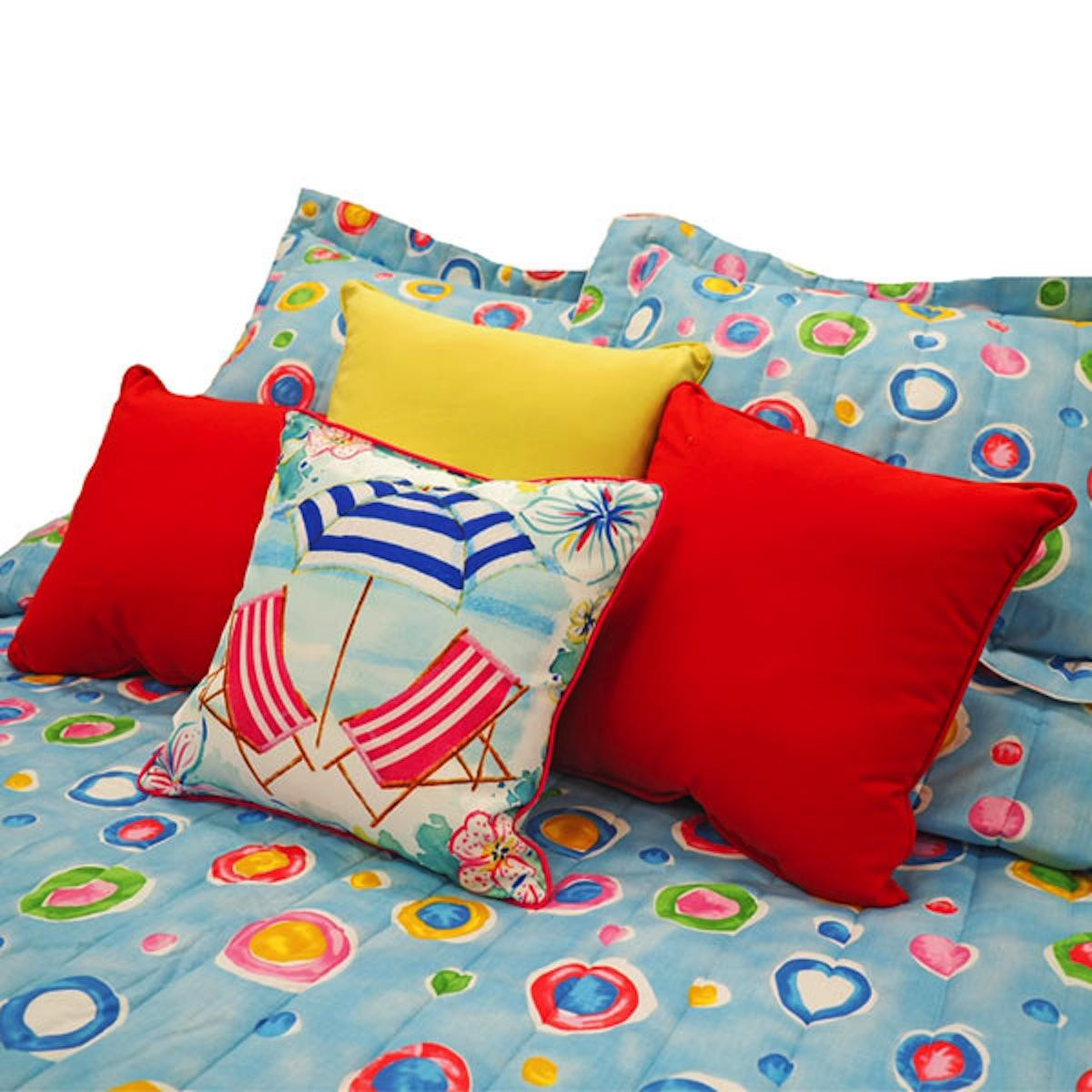 Blue Dot Bedding Collection -