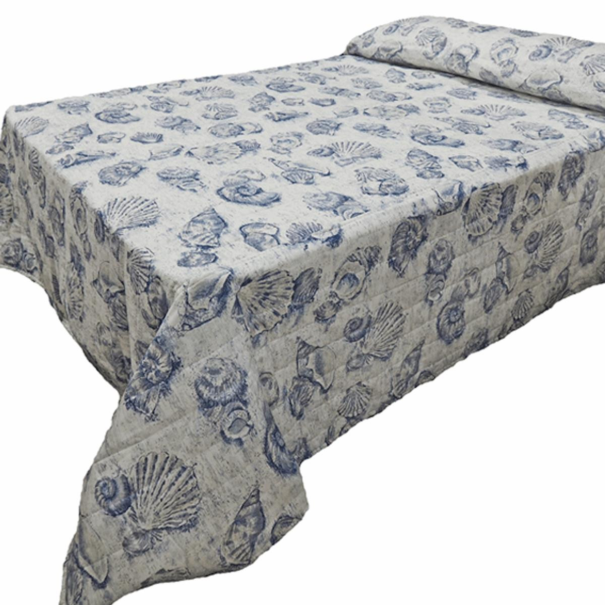 Blue Shell Bedding Collection -