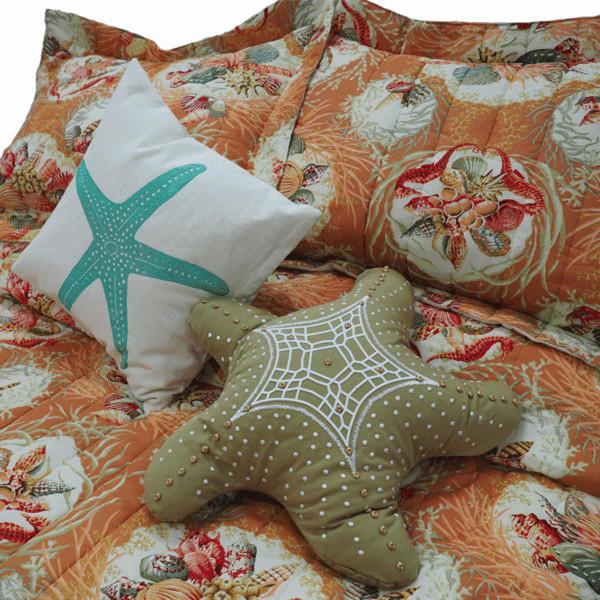 Coral Sealife Bedding Collection -