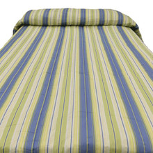 Green Blue Stripe Bedding Collection -