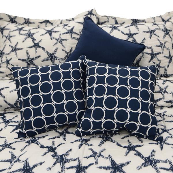 Navy Starfish Bedding Collection - 712383910189
