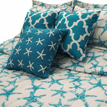 Turquoise Starfish Bedding Collection -