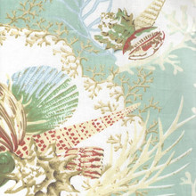 Aqua Sealife Curtains -