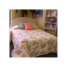 Peach Shell Bedspread - 712383910660