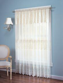 Joy Sheer Macrame Curtain -