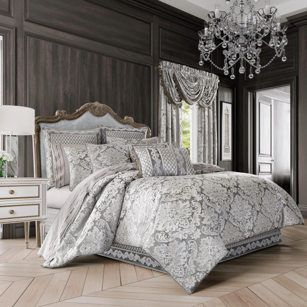 Bel Air Silver Bedding Collection -