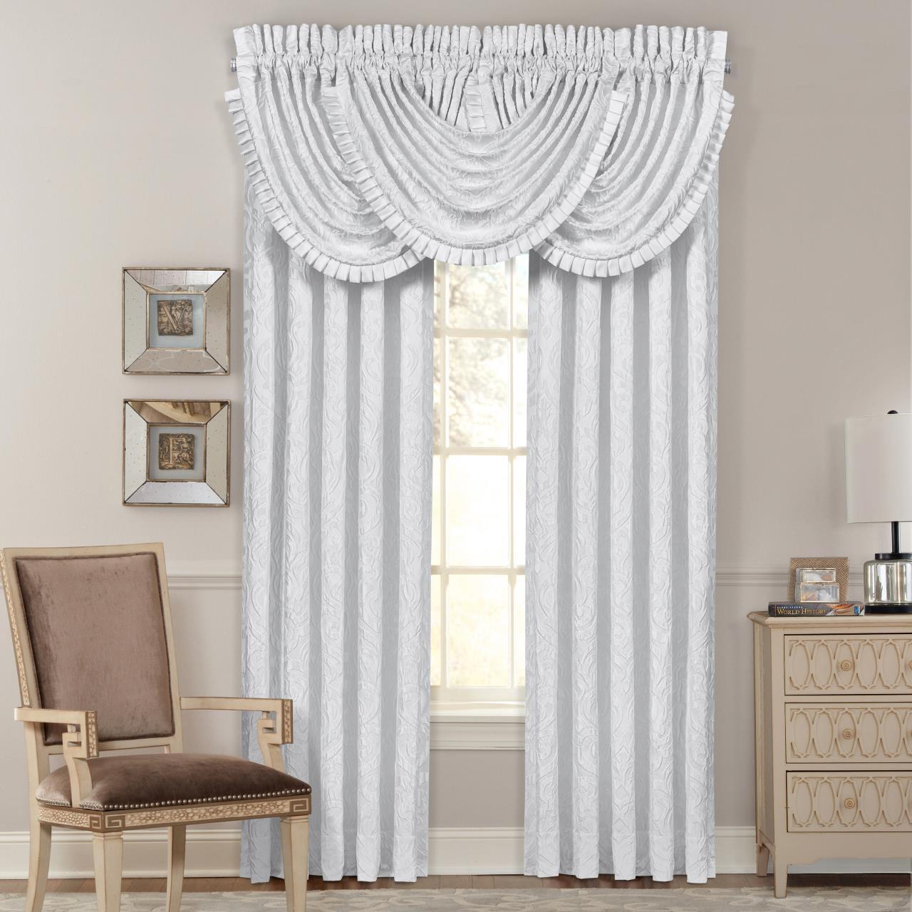 Astoria White Curtains - 846339080395