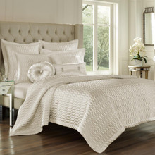 Satinique Natural Coverlet - 846339074806