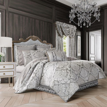 Bel Air Silver Comforter Set - 846339077913
