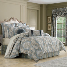 Crystal Palace French Blue Bedding Ensemble - 846339078804