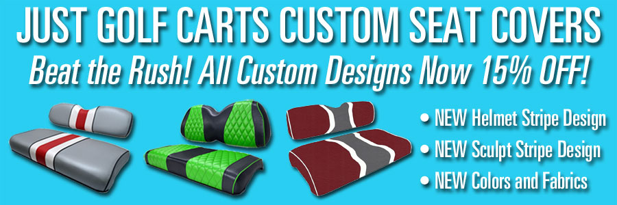 Custom Covers Now 15% Off