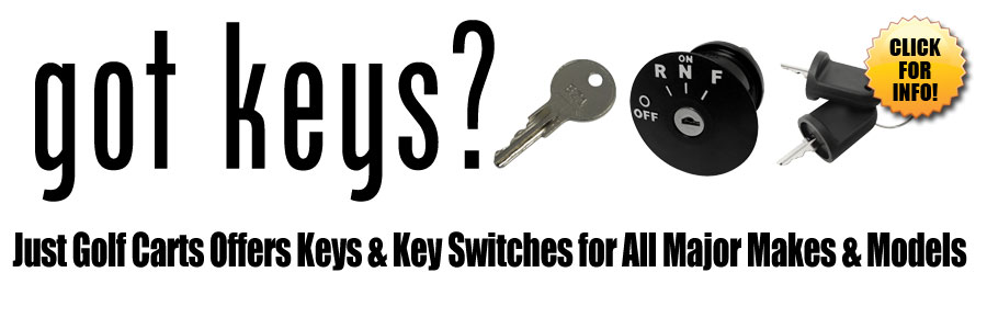 Huge Selection of Golf Cart Keys and Key Switches