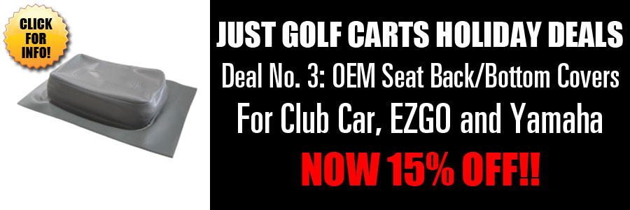 15% Off OEM Seat Covers
