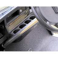 Golf Cart Steering Column Cover, Stainless Steel