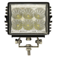 "Golf Cart LED Utility Spotlight, 4.5"", 12-24V, 18W, 1350 Lumen"
