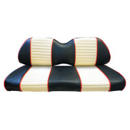 SPECIAL ORDER: Two-Tone Custom Golf Cart Seat Covers