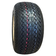 Golf Cart Tire, 18x8.5-8, Duro Sawtooth