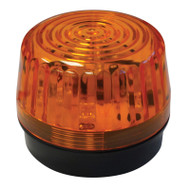 Golf Cart Low Profile LED Amber Strobe Light, 12-24 VDC