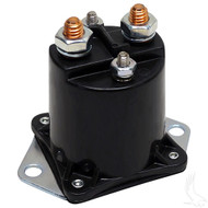 Golf Cart Solenoid 12V Four Terminal Copper, Club Car Gas 84+