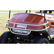Golf Cart Front Brush Guard, Stainless Steel, EZGO Medalist/TXT