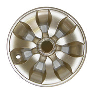 "Golf Cart Wheel Cover Hub Cap, 8"" Sandstone for Steel Wheels"