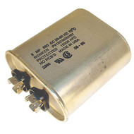 Golf Cart Charger Capacitor, 6 MF Canister-Type, Most 24V, 36V, 42V, 48V Chargers, Lester Replacement