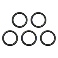 Golf Cart O Ring, Oil Drain Plug, EZGO RXV, EZGO TXT with Kawasaki Engine, Bag of 5