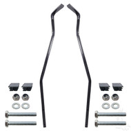 Golf Cart Top Rear Strut Kit for Club Car DS 2000-2013 with 600 Series Rear Seat and OEM Top