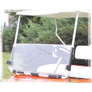 Golf Cart Windshield, Split Acrylic, EZGO Golf Carts