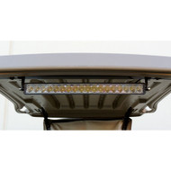 "Golf Cart LED Floodlight, 21"", Single Beam, 12-24V, 54W, 4050 Lumen"